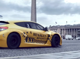 Video megane RS Taxi